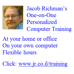 Jacob Richman Training