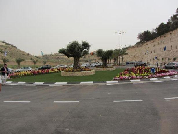 New Traffic Circle