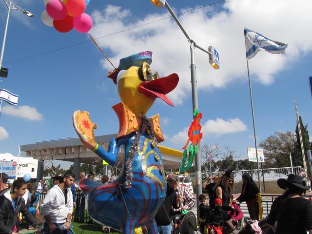 Ma'ale Adumim Purim Parade