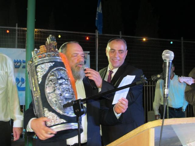 Photos of Second Hakafot in Ma'ale Adumim
