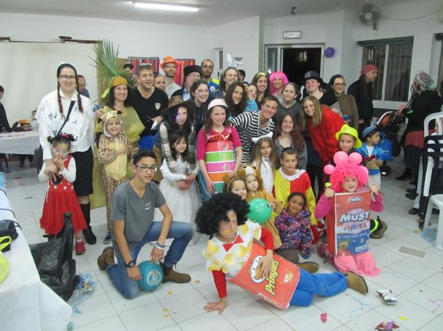Purim Party in Ma'ale Adumim