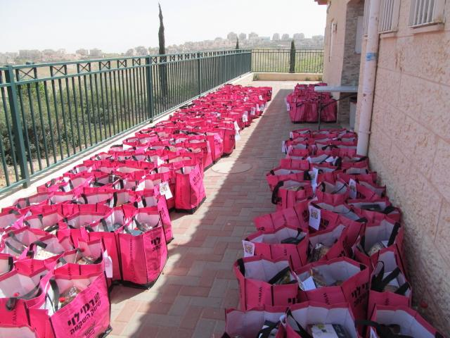 Food Baskets for Needy Soldiers and their Families