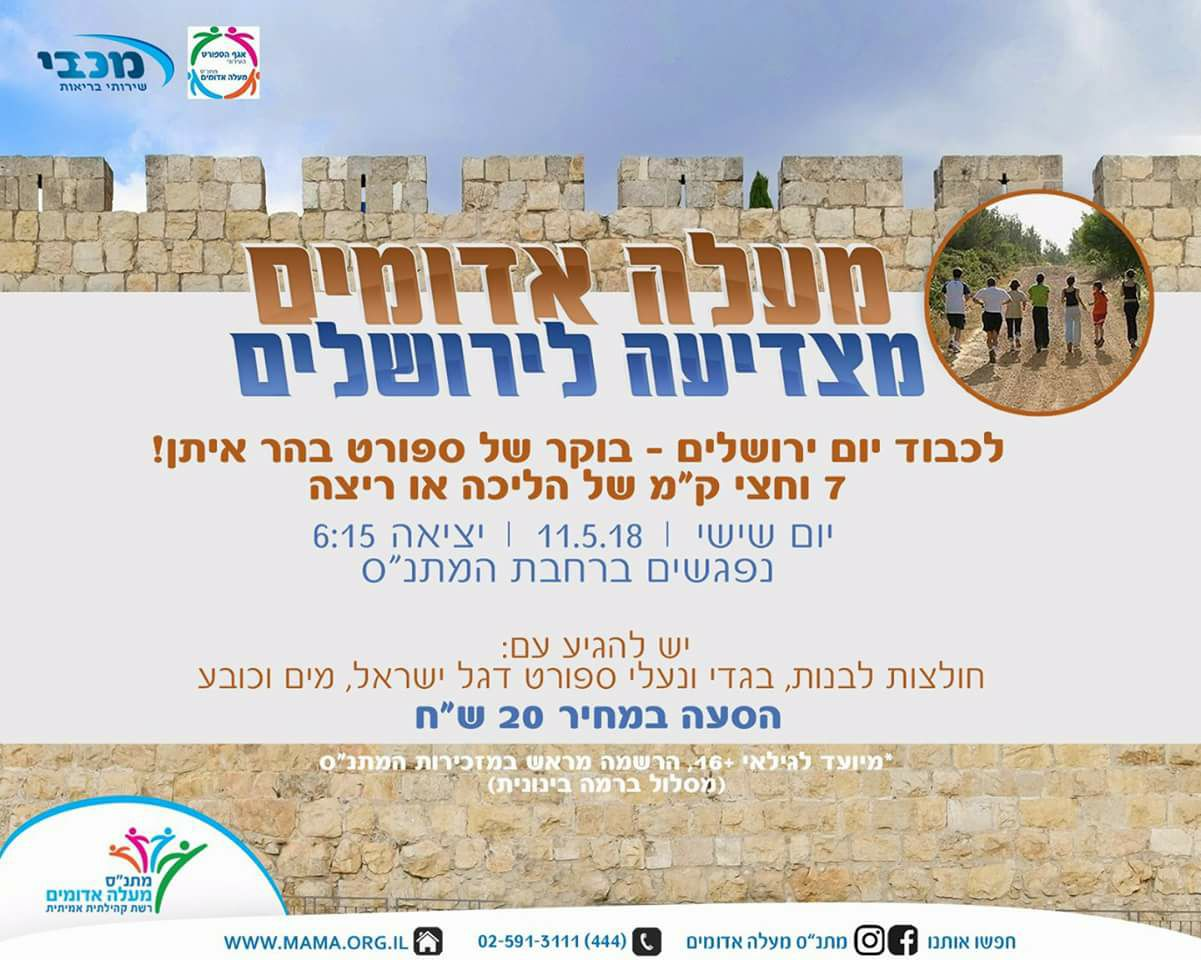 Yom Yerushalayim events in Ma'ale Adumim